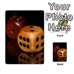 Deck Of Dice B By Jonathan Ham   Playing Cards 54 Designs   Tajv3o61sp9h   Www Artscow Com Back