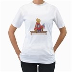 patrotic bear Women s T-Shirt