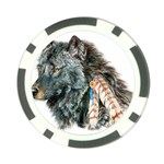 wolf1 Poker Chip Card Guard