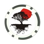asian_sunrise Poker Chip Card Guard