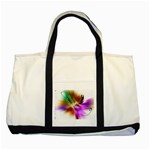 u2_3685 Two Tone Tote Bag