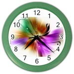 u2_3685 Color Wall Clock