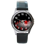 u2_3876 Round Metal Watch