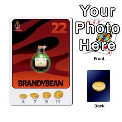 Beanz Deck 1 By Karim Chakroun   Playing Cards 54 Designs   Dbl8hn6ghdpc   Www Artscow Com Front - Diamond6