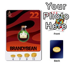 Beanz Deck 1 By Karim Chakroun   Playing Cards 54 Designs   Dbl8hn6ghdpc   Www Artscow Com Front - Diamond8