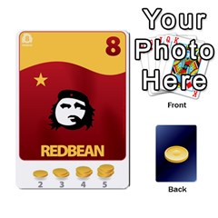 Ace Beanz Deck 1 By Karim Chakroun   Playing Cards 54 Designs   Dbl8hn6ghdpc   Www Artscow Com Front - ClubA