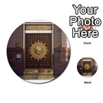 The Door of Masjid Al Nabawi in Madinah, Saudi Arabia Learning Cards 54 (Round) from ArtsNow.com Front 1
