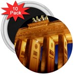 Brandenburg Gate, Germany 3  Magnet (10 pack)