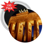Brandenburg Gate, Germany 3  Magnet (100 pack)