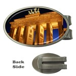 Brandenburg Gate, Germany Money Clip (Oval)