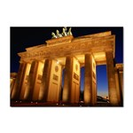 Brandenburg Gate, Germany Sticker (A4)