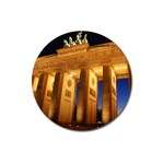 Brandenburg Gate, Germany Magnet 3  (Round)