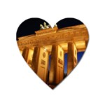 Brandenburg Gate, Germany Magnet (Heart)