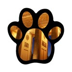Brandenburg Gate, Germany Magnet (Paw Print)