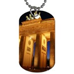 Brandenburg Gate, Germany Dog Tag (One Side)