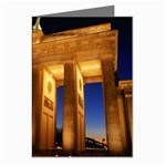 Brandenburg Gate, Germany Greeting Card