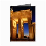 Brandenburg Gate, Germany Mini Greeting Card