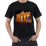Brandenburg Gate, Germany Black T-Shirt