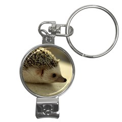 Standard Hedgehog II Nail Clippers Key Chain from ArtsNow.com Front