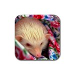 Albino HH Rubber Square Coaster (4 pack)