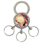 Albino HH 3-Ring Key Chain