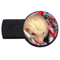 Albino HH USB Flash Drive Round (2 GB) from ArtsNow.com Front