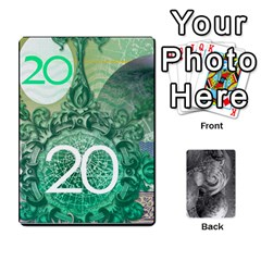 Currency 1 25 5 20 20 9 By Mike Haverty   Playing Cards 54 Designs   Xujxajcskpuz   Www Artscow Com Front - Diamond8