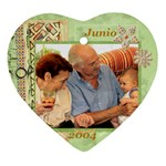 2004-06 Papi y mami - Ornament (Heart)