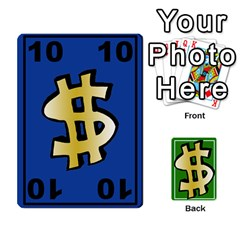 Money Cards By Rehlers   Playing Cards 54 Designs   Qwm0viaplr8v   Www Artscow Com Front - Heart10