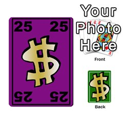 Money Cards By Rehlers   Playing Cards 54 Designs   Qwm0viaplr8v   Www Artscow Com Front - Diamond2