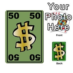 Money Cards By Rehlers   Playing Cards 54 Designs   Qwm0viaplr8v   Www Artscow Com Front - Diamond5