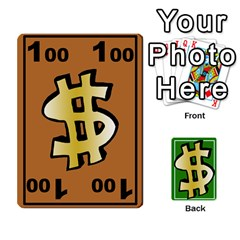 Money Cards By Rehlers   Playing Cards 54 Designs   Qwm0viaplr8v   Www Artscow Com Front - Club3