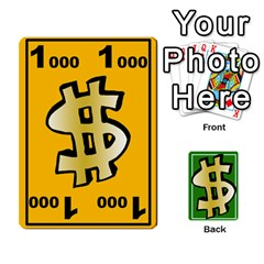Ace Money Cards By Rehlers   Playing Cards 54 Designs   Qwm0viaplr8v   Www Artscow Com Front - ClubA