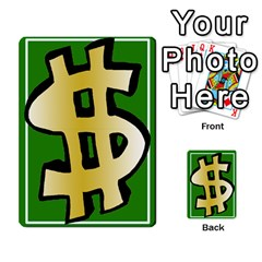 Money Cards By Rehlers   Playing Cards 54 Designs   Qwm0viaplr8v   Www Artscow Com Back