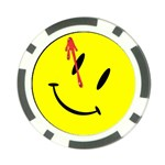 smile Poker Chip Card Guard