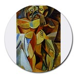 Pablo Picasso - Friendship Round Mousepad