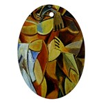 Pablo Picasso - Friendship Ornament (Oval)