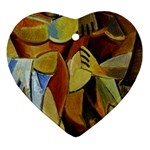 Pablo Picasso - Friendship Ornament (Heart)