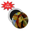 Pablo Picasso - Friendship 1.75  Magnet (10 pack)