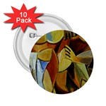 Pablo Picasso - Friendship 2.25  Button (10 pack)