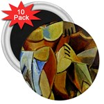 Pablo Picasso - Friendship 3  Magnet (10 pack)