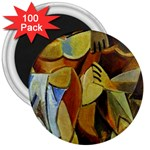 Pablo Picasso - Friendship 3  Magnet (100 pack)