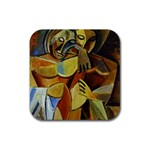 Pablo Picasso - Friendship Rubber Square Coaster (4 pack)