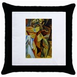 Pablo Picasso - Friendship Throw Pillow Case (Black)