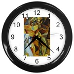Pablo Picasso - Friendship Wall Clock (Black)