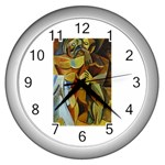 Pablo Picasso - Friendship Wall Clock (Silver)