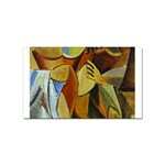 Pablo Picasso - Friendship Sticker (Rectangular)