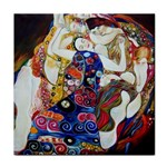 the_virgin__gustav_klimt_copy. Tile Coaster
