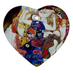 the_virgin__gustav_klimt_copy. Ornament (Heart)