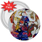 the_virgin__gustav_klimt_copy. 3  Button (10 pack)